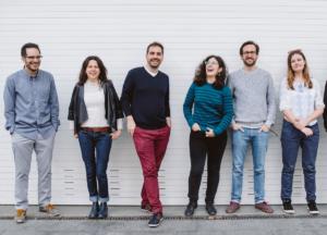 L'equipe Hopla - service de partage de photos